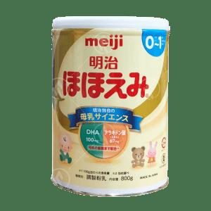 Sữa meiji số 0 nội địa Nhật