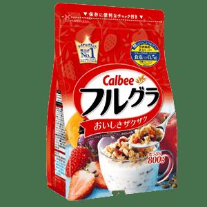 Ngũ cốc sấy khô Calbee - Nhật Bản